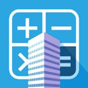 Androidアプリ「不動産投資 利回りシミュレーションで収支を計算」のアイコン