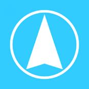 Androidアプリ「ルートヒストリー〜GPSロガーアプリ〜」のアイコン