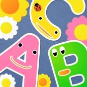 iPhone、iPadアプリ「きいて!さわって!ABC 英語が身につく!幼児向け知育アプリ」のアイコン
