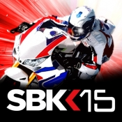 iPhone、iPadアプリ「SBK15 - Official Mobile Game」のアイコン