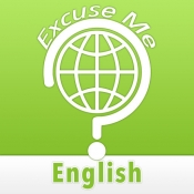 iPhone、iPadアプリ「Excuse Me English」のアイコン