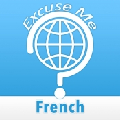 iPhone、iPadアプリ「Excuse Me French」のアイコン