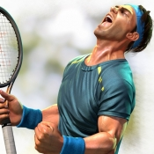 iPhone、iPadアプリ「Ultimate Tennis - アルティメットテニス」のアイコン