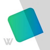 iPhone、iPadアプリ「Wantedly Chat 無料のビジネス用グループチャットアプリ(旧Sync)」のアイコン