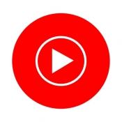 iPhone、iPadアプリ「YouTube Music」のアイコン