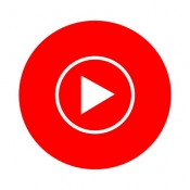 iPhone、iPadアプリ「YouTube Music」のアイコン