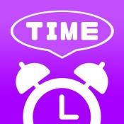 iPhone、iPadアプリ「トークアラーム〜時間を喋る目覚まし時計〜」のアイコン