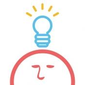 iPhone、iPadアプリ「四角い頭を丸くする - IQ・PQ・アハ体験の脳トレテスト」のアイコン