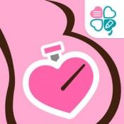 iPhone、iPadアプリ「陣痛タイマー -妊娠・出産時に活躍するシンプル簡単な陣痛時計-」のアイコン
