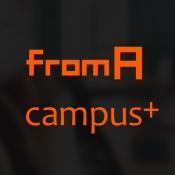 iPhone、iPadアプリ「大学生のバイト探しなら フロムエー キャンパス+」のアイコン