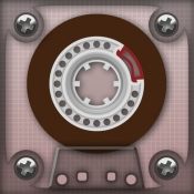 iPhone、iPadアプリ「Magnetola - Vintage Cassette Player with Sound Softener」のアイコン