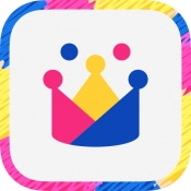 iPhone、iPadアプリ「子ども向け英会話 -GLOBAL CROWN-」のアイコン
