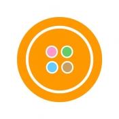 iPhone、iPadアプリ「Craful[クラフル]-ハンドメイドのアイデアが集まる・見つかる場所!」のアイコン