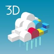 iPhone、iPadアプリ「3D雨雲ウォッチ」のアイコン