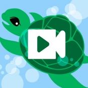 iPhone、iPadアプリ「簡単操作でスローモーションを楽しめる - 簡単スロー」のアイコン