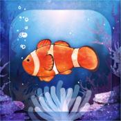 iPhone、iPadアプリ「自分だけのクマノミ育成 - 無料で簡単 カクレクマノミ育成ゲーム」のアイコン
