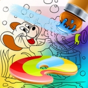 iPhone、iPadアプリ「Coloring Book Game for Kids Tom and Jerry Edition」のアイコン