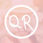 iPhone、iPadアプリ「sweet scan - かわいいQRコードリーダー -」のアイコン