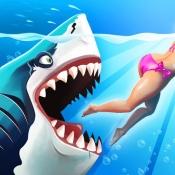 iPhone、iPadアプリ「Hungry Shark World」のアイコン
