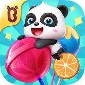 iPhone、iPadアプリ「パンダのキャンディーショップ-BabyBus」のアイコン