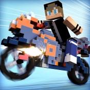 iPhone、iPadアプリ「マインクラフト 単車 レース . 無料 バイク ゲーム 子供 3D」のアイコン