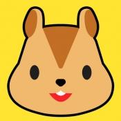 iPhone、iPadアプリ「みんなの動物カード」のアイコン
