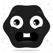iPhone、iPadアプリ「Dark Matty」のアイコン