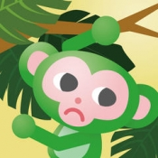 iPhone、iPadアプリ「モンキーツリー 動物パズル無料ゲーム」のアイコン
