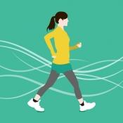 iPhone、iPadアプリ「歩数計Maipo - 毎日歩こうダイエット!」のアイコン
