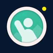 iPhone、iPadアプリ「構図を決めて記念撮影をお願いできるカメラアプリ TakeMyPic(テイクマイピック)」のアイコン