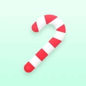 iPhone、iPadアプリ「Xmas Cam - Christmas Stickers and Photo Frames」のアイコン