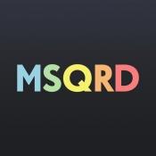 iPhone、iPadアプリ「MSQRD — 自撮りビデオ用のライブフィルターとフェイススワップ」のアイコン