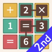 iPhone、iPadアプリ「パズマス2 数式なぞり脳トレパズルゲーム」のアイコン