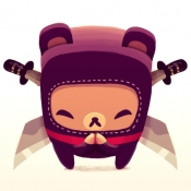 iPhone、iPadアプリ「Bushido Bear」のアイコン