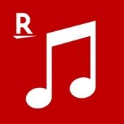 iPhone、iPadアプリ「楽天ミュージック 楽天の聴き放題・音楽アプリ」のアイコン