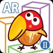 iPhone、iPadアプリ「キョロちゃんの遊べるARⅡ チョコボールの箱で遊ぶ無料ゲーム」のアイコン