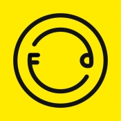 iPhone、iPadアプリ「Foodie - 生活のためのカメラ」のアイコン