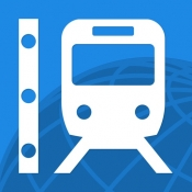 iPhone、iPadアプリ「乗換路線図」のアイコン