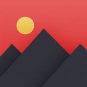 iPhone、iPadアプリ「Pixomatic photo editor」のアイコン