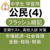 iPhone、iPadアプリ「中学 公民 (4) 中3 社会 復習用  定期テスト 高校受験」のアイコン