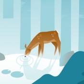 iPhone、iPadアプリ「Wildfulness − 心を落ち着かせる」のアイコン