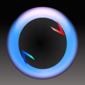 iPhone、iPadアプリ「GravityHoles -引力を操作するゲーム-」のアイコン