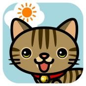 iPhone、iPadアプリ「あさねこ かわいい目覚まし時計&天気予報」のアイコン