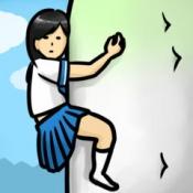 iPhone、iPadアプリ「大根にしがみつく女子高生」のアイコン