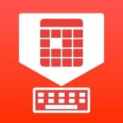 iPhone、iPadアプリ「ApptBoard - 予定調整カレンダーキーボード」のアイコン