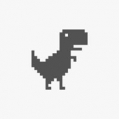 iPhone、iPadアプリ「Steve - The Jumping Dinosaur Widget Game」のアイコン