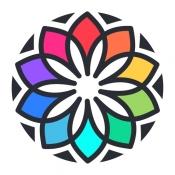iPhone、iPadアプリ「私の塗り絵本 - 塗り絵ゲーム」のアイコン