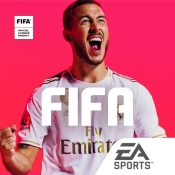 iPhone、iPadアプリ「FIFAサッカー」のアイコン