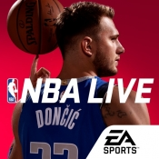 iPhone、iPadアプリ「NBA LIVE バスケットボール」のアイコン