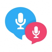 iPhone、iPadアプリ「Talk & Translate」のアイコン